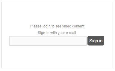 Zadat emailovu adresu