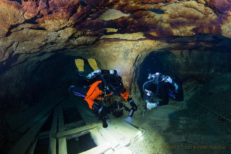 Prieskum zatopených objektov (Pekka Tuuri & Peter Kubička)